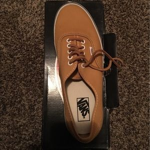Mustard colored Vans size 10